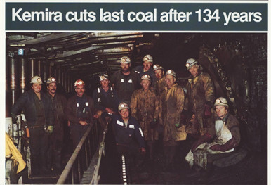 Kemira Dayshift just prior to the last shear Courtesy Coal News Issue No. 80 Oct 1991
