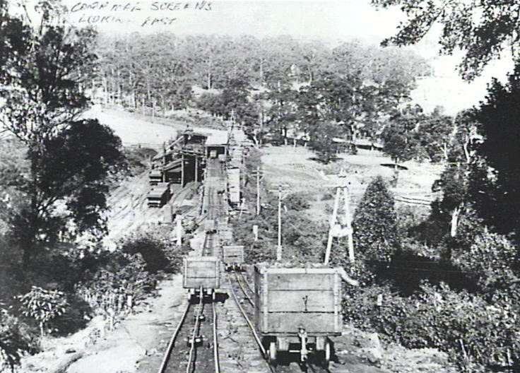 Corrimal Old 2 0 incline in operation until c.1955